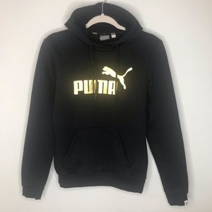 Puma Black Hoodie